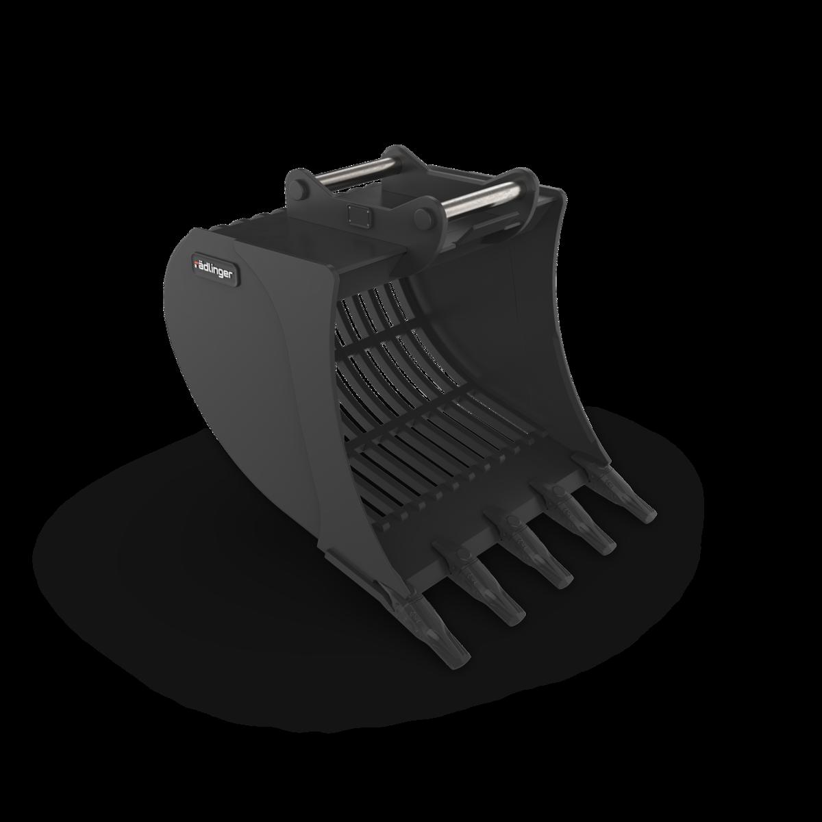 Sieblöffel 80 cm Zähne - MS03