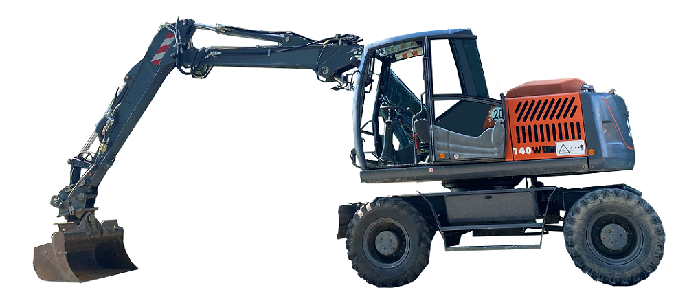 140W - 16to Mobilbagger