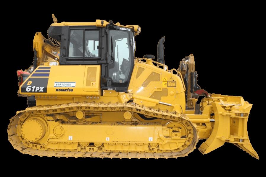 D61PX Heckaufreißer - 19 t
