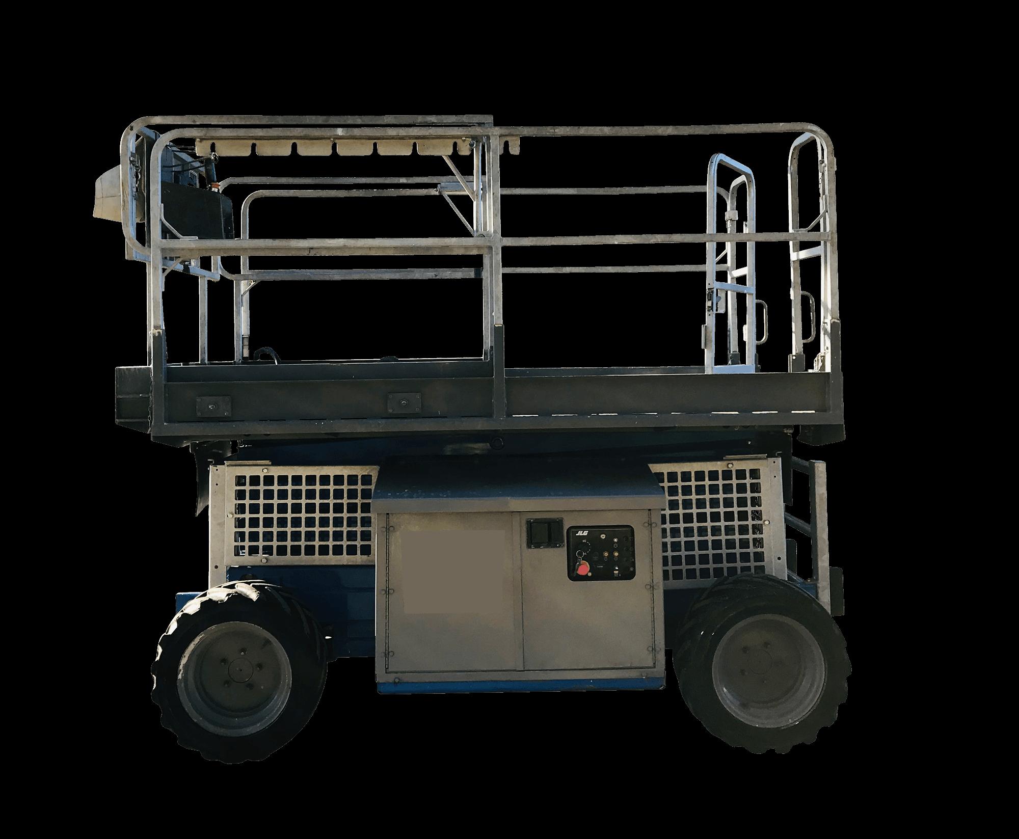 S099/DA18 - Diesel Allrad - 4,1 t Scherenarbeitsbühne