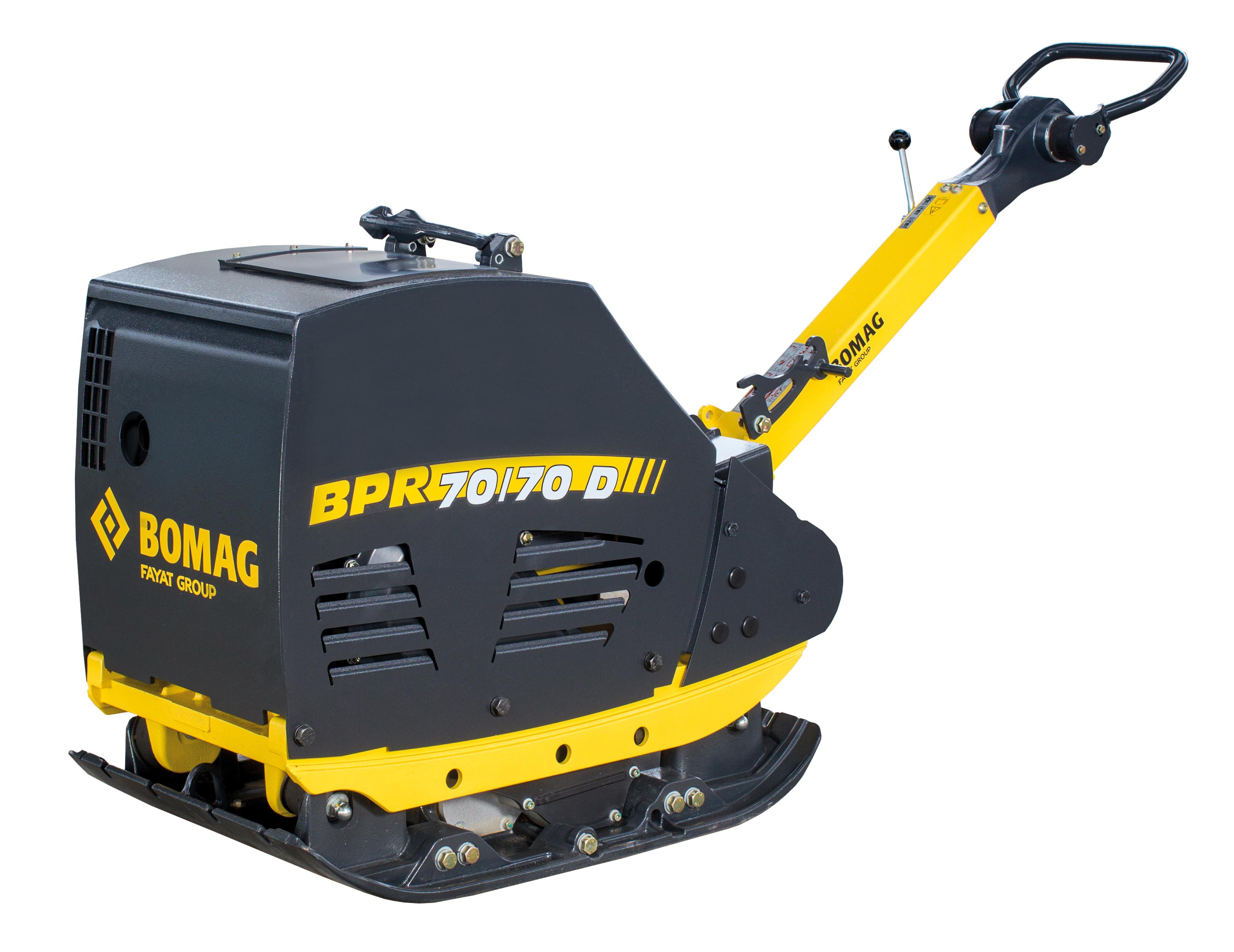 BPR 70/70 D/E - 580 kg Rüttelplatte