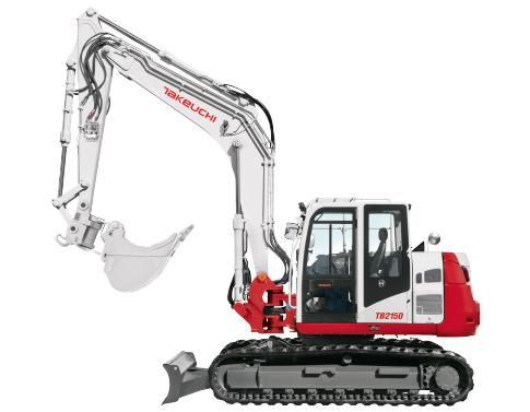 TB 2150C V4 - 15 t Mono Swing Boom Kettenbagger