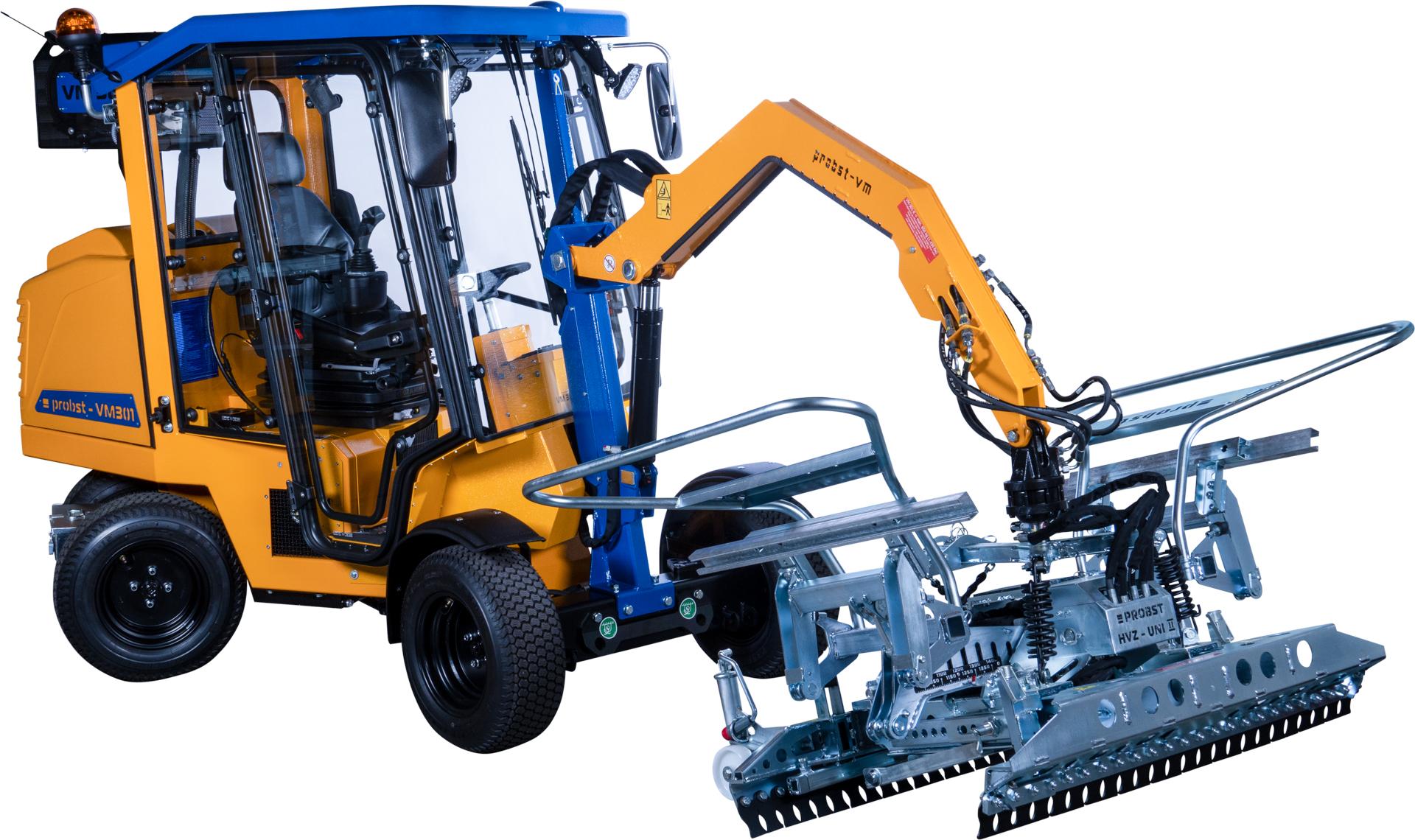 301 Pavermax HVZ-Uni Pflasterverlegemaschine