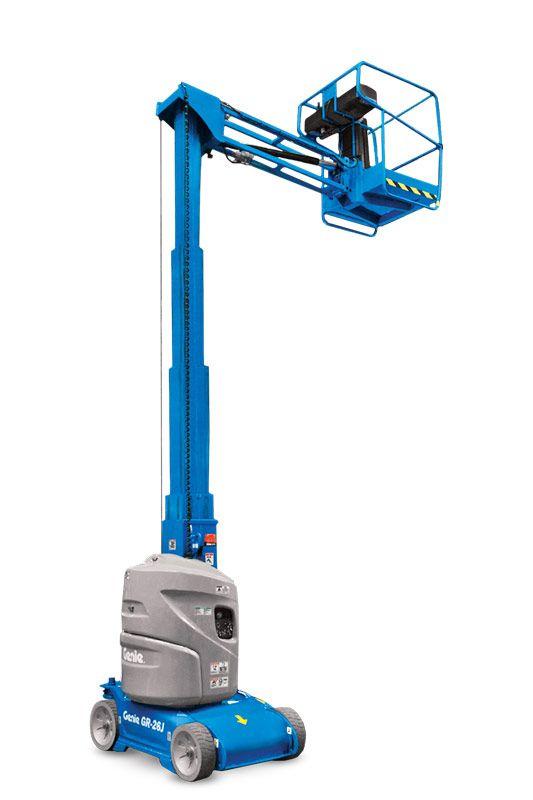 GR-12 / 5,5 m hoch - 0,72 t Mastarbeitsbühne